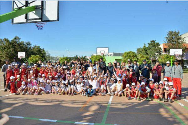 Vivo Energy Maroc met son énergie au service des jeunes par le basketball