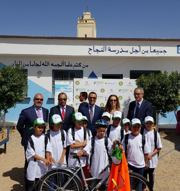 Vivo Energy Maroc : Distribution de vélos et de cartables pour les enfants démunis