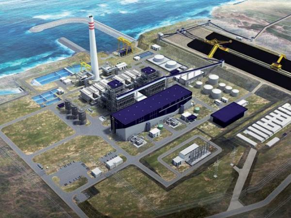 Mise en service de la centrale thermique de Safi