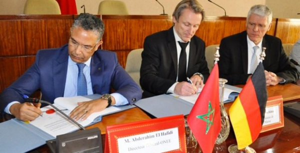 ONEE-KfW : Contrats de financement dans le domaine de l'alimentation en eau potable et de l'Assainissement liquide