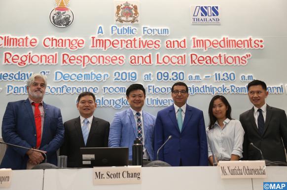 Présentation à Bangkok de l'expérience du Maroc dans les énergies propres et la lutte contre le changement climatique