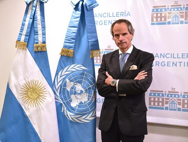 SM le Roi félicite Rafael Mariano Grossi suite à sa nomination Directeur général de l'IAEA