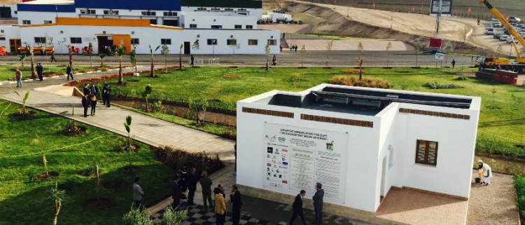 premier logement social à énergie positive au Maroc