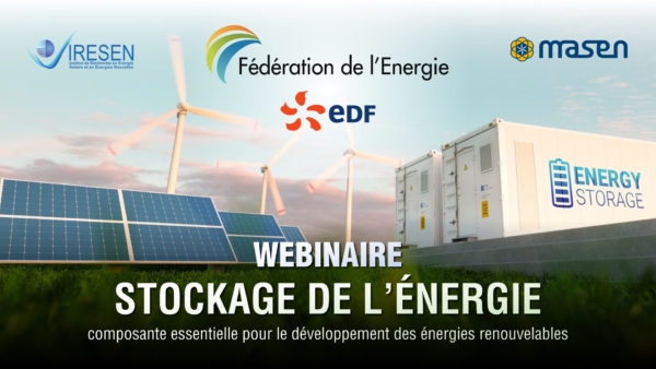 """Fédération de l'Énergie : Webinaire : """"Le Stockage de l'Énergie, composante essentielle pour le développement des ENRs"""""""