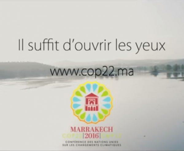 COP22 : lancement de la campagne de communication : voir la vidéo