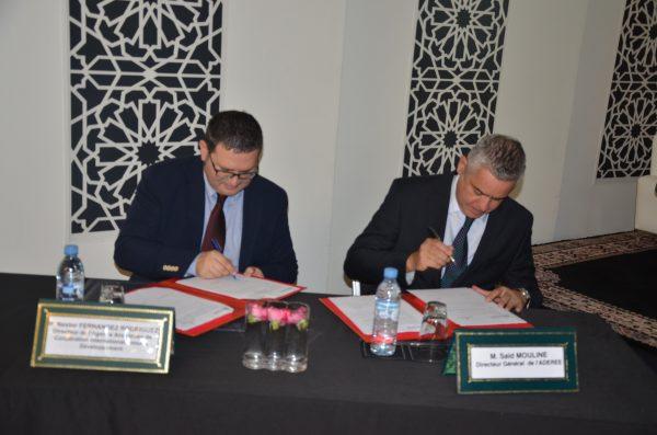 ADEREE-Junta De Andalucia: Nouveau programme de partenariat