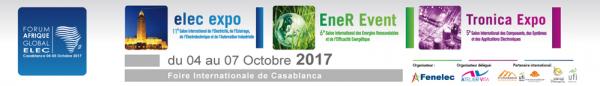 Elec expo, EneR Event et Tronica Expo en octobre prochain