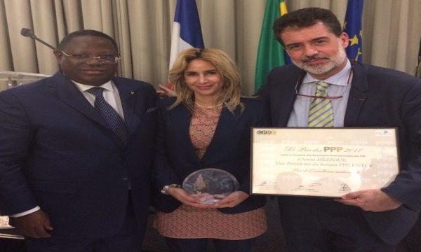 La Secrétaire générale de l'AMEE reçoit à Paris le « Prix de l'Excellence Marocaine »
