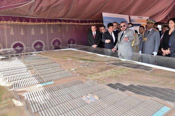 Lancement des travaux de Noor IV à Ouarzazate