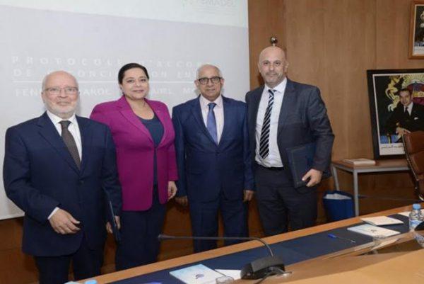 Protocole d'accord de fusion entre la FENELEC et la Fédération Marocaine de l'Electricité