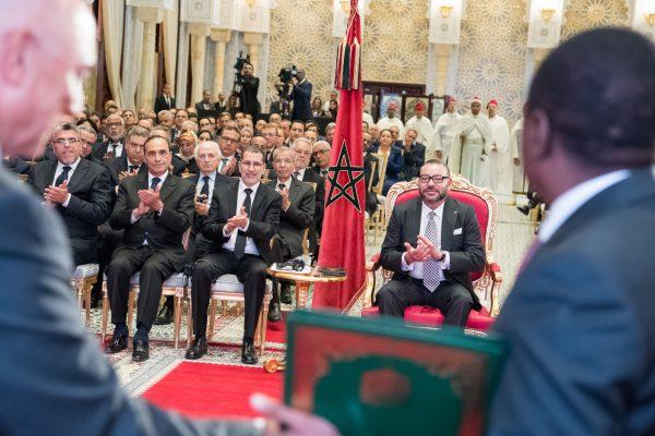 SM le Roi préside la signature d'accords relatifs au projet du Gazoduc Nigéria-Maroc