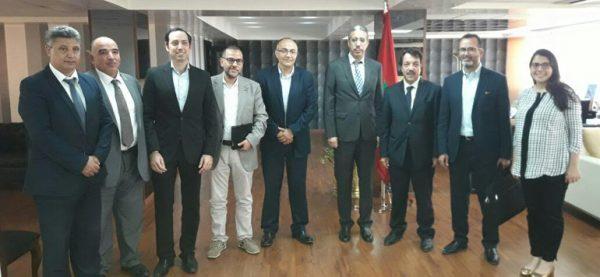 Les énergies renouvelables au centre d'une rencontre entre M. Rabbah, la FENELEC et de l'AMISOLE
