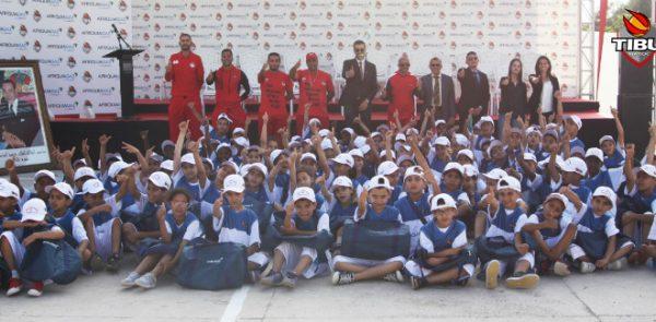 TIBU Maroc, Afriquia Gaz et AREF inaugurent un centre de Basket à Inezgane