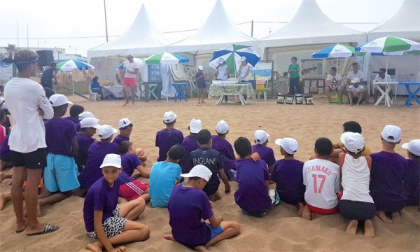 La Fondation Lydec anime la plage Lalla Meryem