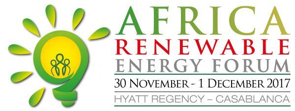 Africa Renewable Energy Forum 30th November – 1st December - Casablanca