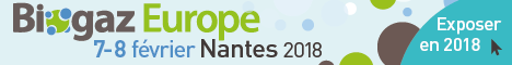Biogaz Europe - 7/8 février 2018 | Nantes France