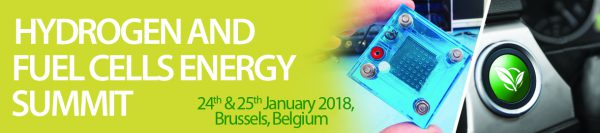 Hydrogen & Fuel Cells Energy Summit - 24/25 janvier 2018 | Bruxelles - Belgique