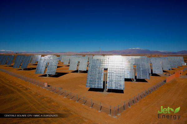 Jet Energy : Leader dans la réalisation, l'exploitation et la maintenance de centrales photovoltaïques