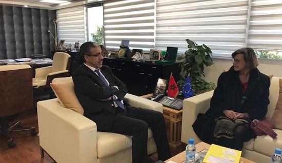Maroc-UE : Entretiens entre M. Rabbah et Mme Wiedey