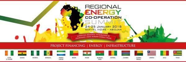 Sommet régional de coopération énergétique 2018 - Les 24 et 25 janvier 2018 | Abidjan