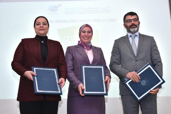Cluster solaire/CGEM : Conventions de partenariat pour le développement d'une économie climatique