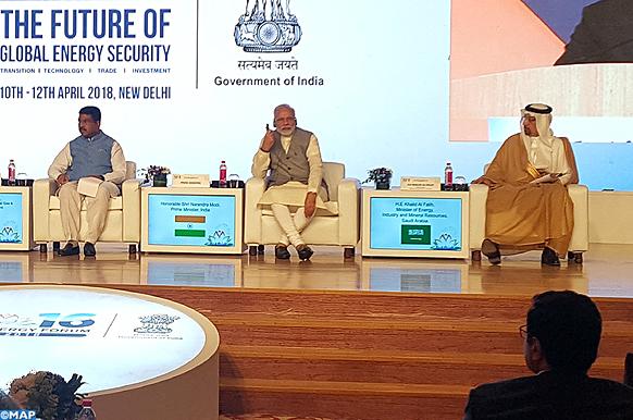 Le Maroc participe au Forum international de l'énergie en Inde