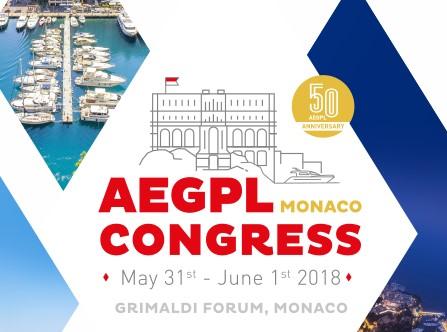 Congrès AEGPL à Monaco, du 31 Mai au 1er Juin 2018