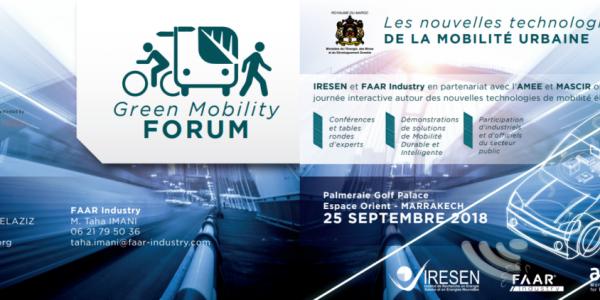 « Green Mobility Forum » : Pour le développement d'une mobilité urbaine durable à bas carbone au Maroc