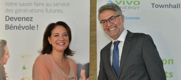 Vivo Energy Maroc consolide son partenariat avec INJAZ Al Maghrib