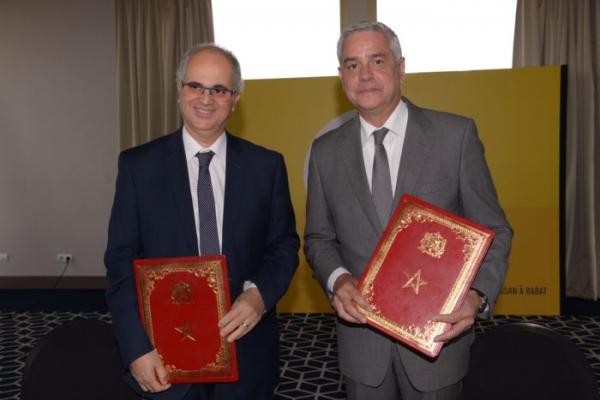Barid Al-Maghrib – AMEE : Convention de partenariat entre pour le renforcement de l'efficacité énergétique