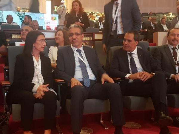 5è exposition internationale du secteur du pétrole et des mines avec la participation du Maroc