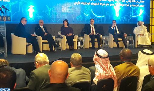 Le Maroc, président de l'Union arabe de l'électricité