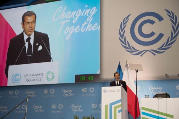 COP24 : Le Souverain plaide la cause climatique de l'Afrique et des pays en développement