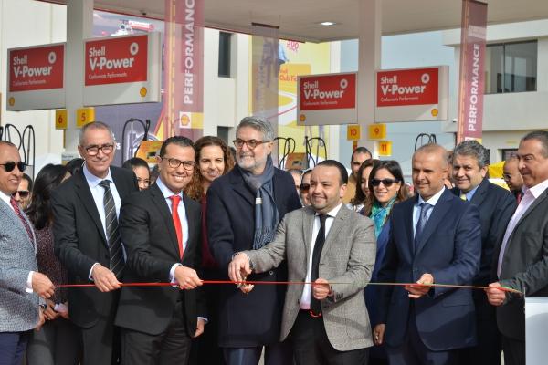 Vivo Energy Maroc inaugure la nouvelle station Shell « Parc Bouskoura »
