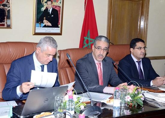 M. Aziz RABBAH préside le 2e Conseil d'Administration de l'AMEE