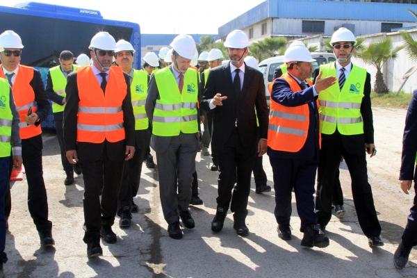 Lydec : Le comité de suivi visite les chantiers de grands projets d'assainissement