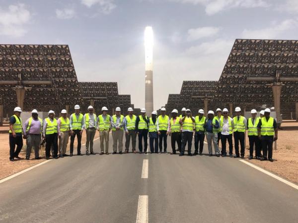 Une délégation africaine visite le complexe Noor Ouarzazate