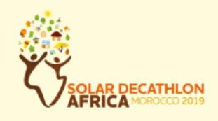 Solar Décathlon Africa organisé par l'IRESEN du 13 au 27 septembre 2019 à Benguerir