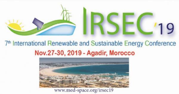 7e conférence internationale sur les énergies renouvelables et durables, Du 27 au 30 novembre à Agadir