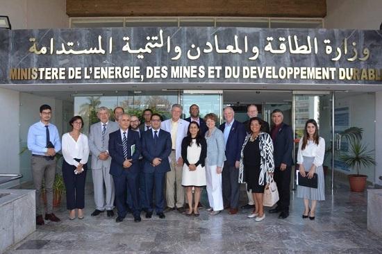 Visite au Maroc de la Commission de l'Energie et du Commerce du Congrès américain