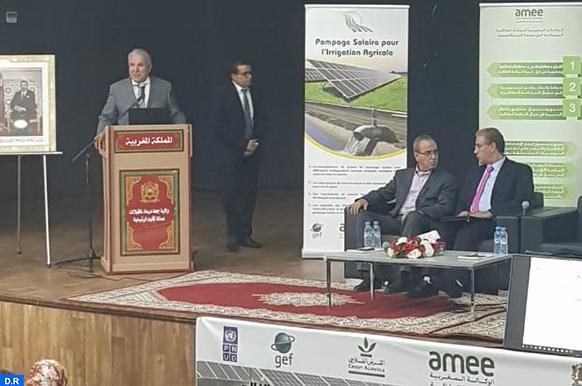 AMEE : Atelier de sensibilisation sur le pompage solaire à Errachidia