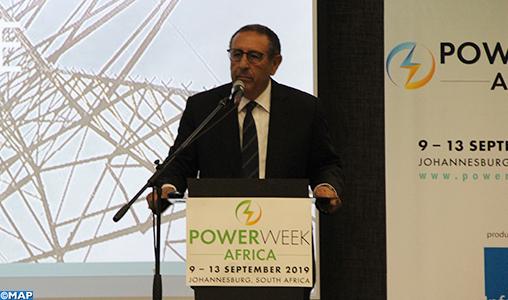 La stratégie énergétique marocaine et sa pertinence pour l'Afrique mises en avant à Johannesburg
