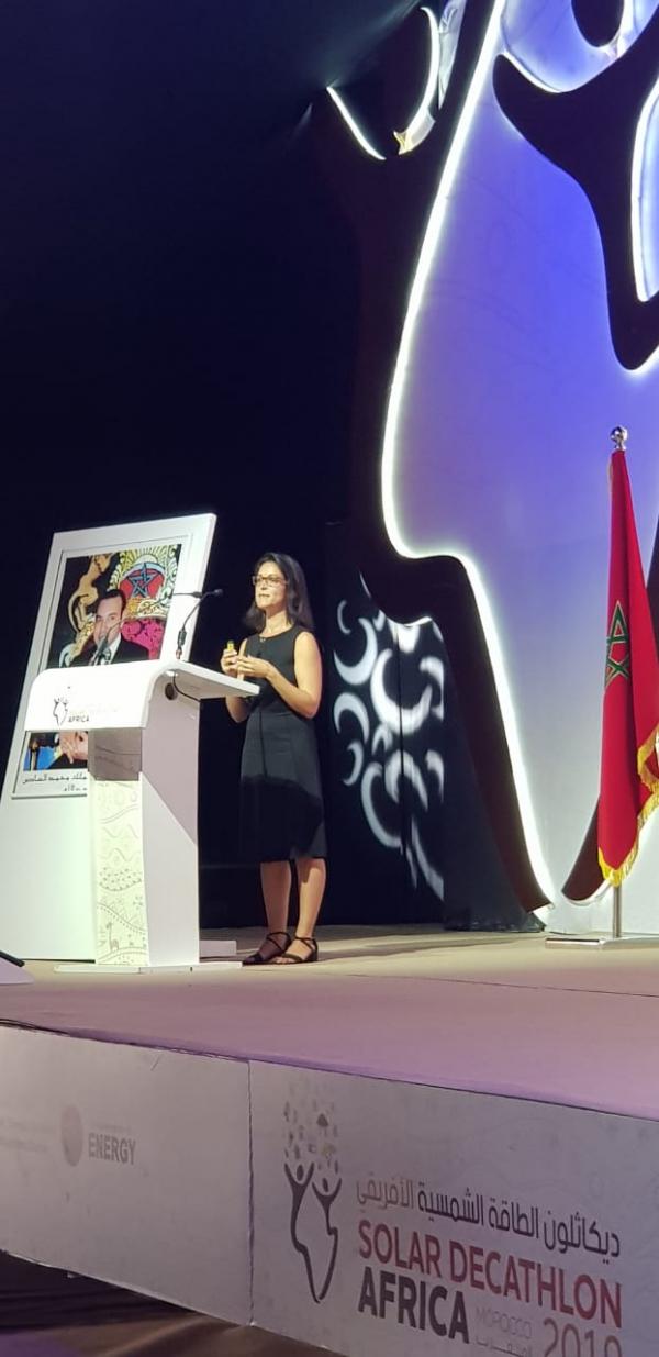 Une experte de l'AIE anime à Benguérir une conférence sur « les transitions énergétiques et la transformation numérique au monde »