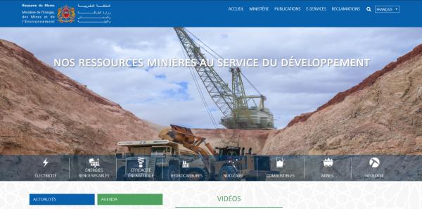 Lancement du nouveau Portail du département de l'Énergie et des mines