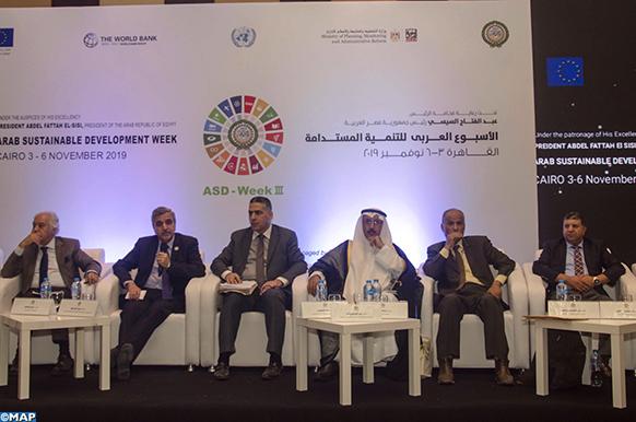 Développement durable: l'expérience du Maroc mise en exergue au Caire