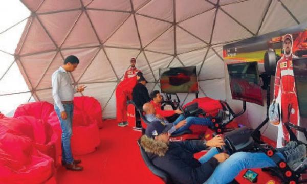Lancement de la «Shell V-Power Virtual Cup»