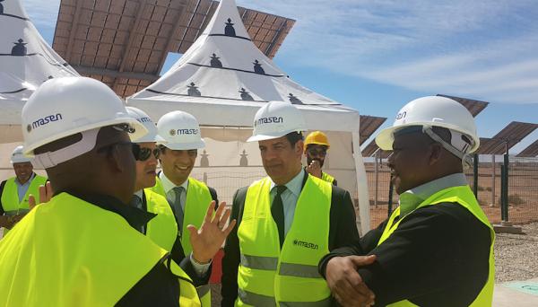 Inauguration au Complexe Noor Ouarzazate d'un système de stockage d'énergie thermique