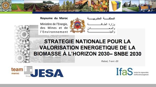 Réunion de la Commission nationale technique de la valorisation énergétique de la biomasse