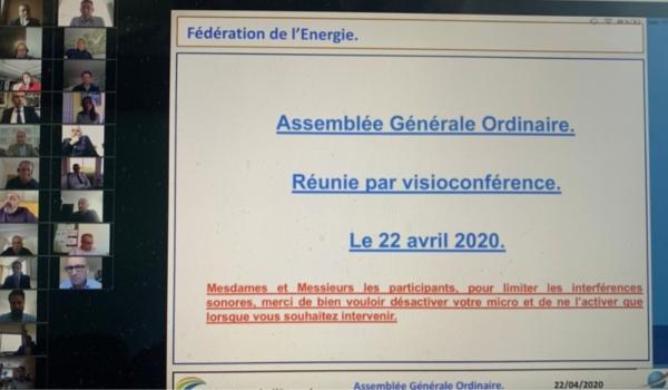 Assemblée Générale Ordinaire de la Fédération de l'Energie