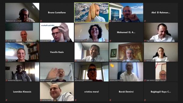 OME : Workshop en ligne sur les applications du GNL de petite taille dans la région Méditerranéenne